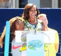 Michelle Obama - New York - 24-08-2013 - Michelle Obama all'Arthur Ashe Kids Day
