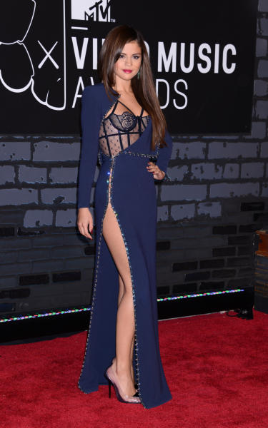 Selena Gomez - Brooklyn - 25-08-2013 - Mtv Video Music Awards: trasparenze per tutti