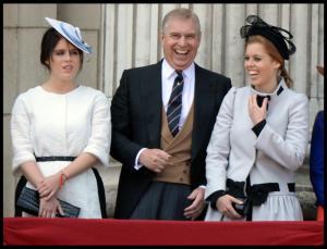 Principessa  Beatrice di York, Principe Andrea Duca di York, Principessa Eugenia di York, Sarah Ferguson - Londra - 15-06-2013 - Beatrice di York, lo scandalo del padre Andrea investe le nozze