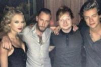 Harry Styles, Ed Sheeran, Taylor Swift - 27-08-2013 - Vma, Taylor Swift posa con Harry Styles nel backstage