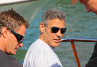 George Clooney - Venezia - 27-08-2013 - Slitta l'uscita nelle sale di The Monuments Men
