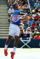 Roger Federer - New York - 27-08-2013 - Us Open, Federer: esordio positivo contro Zemlja