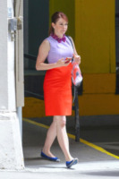 Alyson Hannigan - New York - 13-05-2013 - Back to school: tutte studentesse preppy con il colletto!