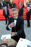 George Clooney - Venezia - 28-08-2013 - Slitta l'uscita nelle sale di The Monuments Men