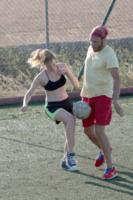 Andrea Pezzi, Cristiana Capotondi - Formentera - 28-08-2013 - Lo sport? Decisamente è meglio in coppia...