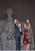 Michelle Obama, Barack Obama - Washington - 28-08-2013 - Barack Obama celebra Martin Luther King cinquant'anni dopo