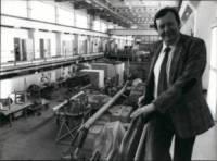 Carlo Rubbia - 10-10-1984 - Piano, Abbado, Cattaneo e Rubbia senatori a vita