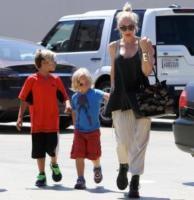Zuma Rossdale, Kingston Rossdale, Gwen Stefani - Los Angeles - 29-08-2013 - Gwen Stefani aspetta il terzo figlio