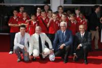 Enrico Maria Artale, Aurelio De Laurentiis, Alberto Barbera - Venezia - 31-08-2013 - Festival di Venezia: il red carpet diventa in un campo da rugby