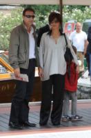 Stiopa, Francesco Giammatteo, Laura Morante - Venezia - 01-09-2013 - Festival di Venezia: Laura Morante porta l'eleganza al Lido