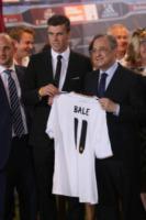 Florentino Perez, Gareth Bale - Madrid - 02-09-2013 - Gareth Bale mania, in 20mila alla sua presentazione