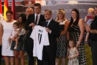 Emma Rhys-Jones, Florentino Perez, Gareth Bale - Madrid - 02-09-2013 - Gareth Bale mania, in 20mila alla sua presentazione