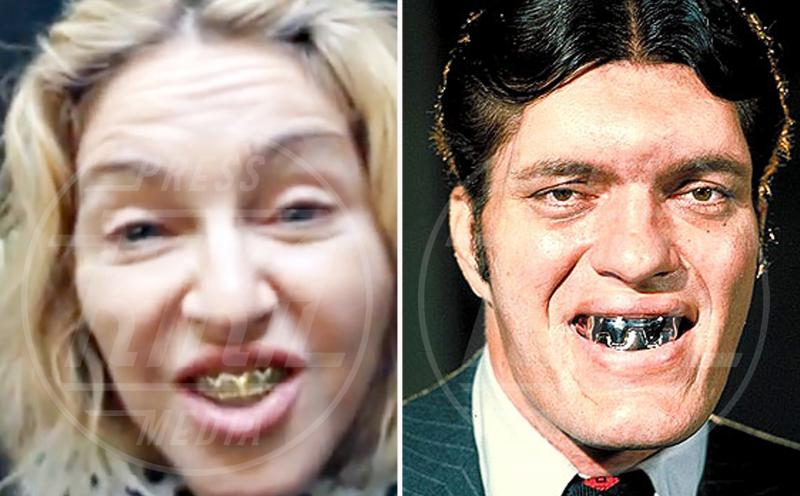 Richard Kiel, Madonna - Hollywood - 28-11-2014 - Separate alla nascita: Bella Hadid e Carlà!