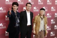 Shinji Aramaki, Haruma Miura, Leiji Matsumoto - Venezia - 03-09-2013 - Festival di Venezia: è arrivato Capitan Harlock