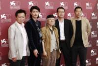Joseph Chou, Yoshi Ikezawa, Shinji Aramaki, Haruma Miura, Leiji Matsumoto - Venezia - 03-09-2013 - Festival di Venezia: è arrivato Capitan Harlock