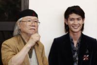 Haruma Miura, Leiji Matsumoto - Venezia - 03-09-2013 - Festival di Venezia: è arrivato Capitan Harlock