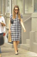 Jessica Biel - New York - 03-09-2013 - Il must dell'autunno? Sua Maestà il tartan!