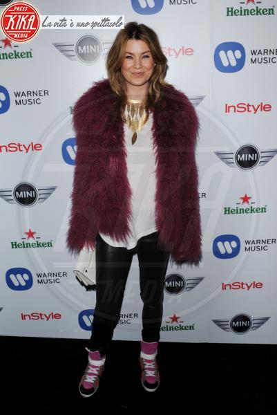 Ellen Pompeo - Beverly Hills - 10-02-2013 - Calda e colorata: è la Venere in ecopelliccia!