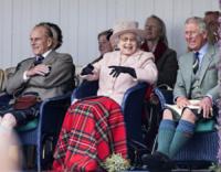 Principe Carlo d'Inghilterra, Regina Elisabetta II, Principe Filippo Duca di Edimburgo - Londra - 07-09-2013 -