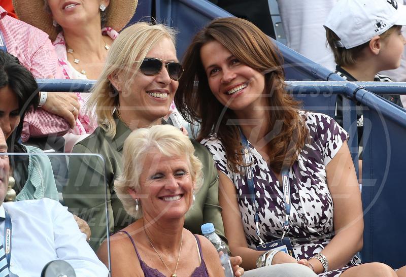 Julia Lemigova, Martina Navratilova - New York - 08-10-2013 - Cara, Michelle e le altre: quando lei & lei sono in coppia