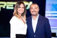 Franco Di Mare, Paola Perego - Roma - 08-09-2013 - La Vita in Diretta, prima puntata col botto Canalis