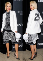 Rita Ora - New York - 10-09-2013 - Vade retro abito! il party per 25° anno di DKNY