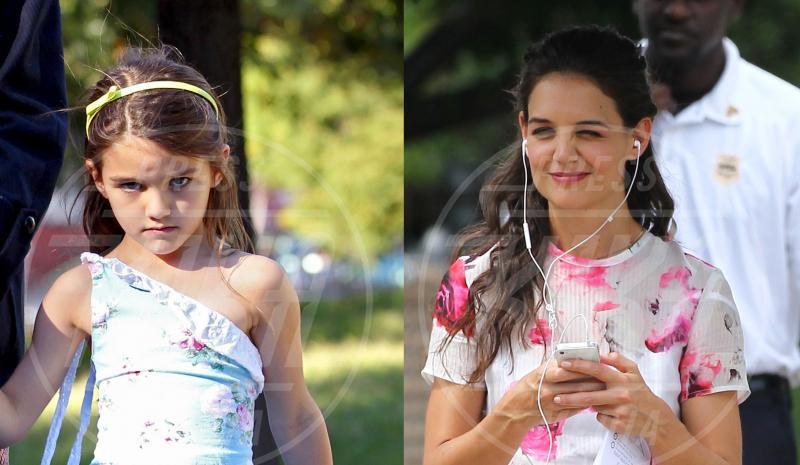 Suri Cruise, Katie Holmes - 11-09-2013 - Tutta sua mamma… e a volte suo papà!