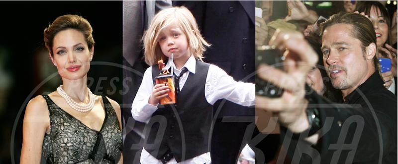 Shiloh Jolie Pitt, Angelina Jolie, Brad Pitt - 11-09-2013 - Tutta sua mamma… e a volte suo papà!
