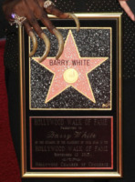 Glodean White - Los Angeles - 12-09-2013 - Barry White omaggiato con la stella sulla Walk of Fame