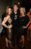 Don O'Neill, Amy Trucks, Sonja Morgan - New York - 11-09-2013 - New York Fashion Week: il backstage della sfilata Theia