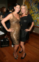 Melissa Veniero Clavirella, Sonja Morgan - New York - 11-09-2013 - New York Fashion Week: il backstage della sfilata Theia