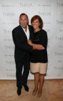Lynette Lubin, Neil Federer - New York - 11-09-2013 - New York Fashion Week: il backstage della sfilata Theia