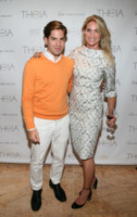 MIchael Arguello, Evelyn Anastos - New York - 11-09-2013 - New York Fashion Week: il backstage della sfilata Theia