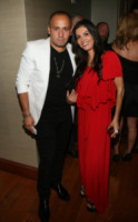 Henry Picado, Adriana de Moura - New York - 11-09-2013 - New York Fashion Week: il backstage della sfilata Theia