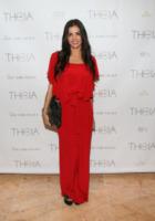 Adriana de Moura - New York - 11-09-2013 - New York Fashion Week: il backstage della sfilata Theia