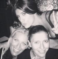 Federica Fontana, Elisabetta Canalis - Los Angeles - 13-09-2013 - Dillo con un tweet: la Canalis festeggia i 35 anni a Milano
