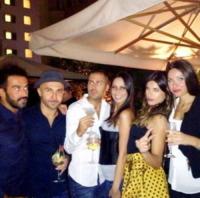Maccio Capatonda, Elisabetta Canalis - Los Angeles - 13-09-2013 - Dillo con un tweet: la Canalis festeggia i 35 anni a Milano