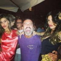 Belen Rodriguez, Elisabetta Canalis - Los Angeles - 13-09-2013 - Dillo con un tweet: la Canalis festeggia i 35 anni a Milano