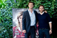Chris Hemsworth, Daniel Bruhl - Roma - 13-09-2013 - Chris Hemsworth e Ron Howard presentano Rush a Roma