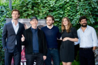 Chris Hemsworth, Alexandra Maria Lara, Ron Howard, Daniel Bruhl - Roma - 13-09-2013 - Chris Hemsworth e Ron Howard presentano Rush a Roma