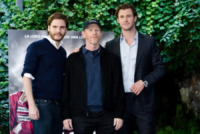 Chris Hemsworth, Ron Howard, Daniel Bruhl - Roma - 13-09-2013 - Chris Hemsworth e Ron Howard presentano Rush a Roma