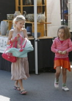 Seraphina Rose Elizabeth Affleck, Violet Anne Affleck - Los Angeles - 15-09-2013 - Jennifer Garner: una casalinga disperata a Los Angeles