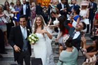 Sohrab Bassiri, Violetta Gruosi - Monopoli (BA) - 14-09-2013 - Violetta Gruosi e Sohrab Bassiri sposi a Monopoli