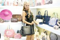 Milano - 16-09-2013 - Paris Hilton presenta al Mipel la sua collezione di borse