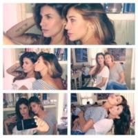 Belen Rodriguez, Elisabetta Canalis - Los Angeles - 17-09-2013 - Dillo con un tweet: Nicole Minetti in esilio come Bettino Craxi
