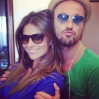 Francesco Facchinetti, Alessia Ventura - Los Angeles - 17-09-2013 - Dillo con un tweet: Nicole Minetti in esilio come Bettino Craxi