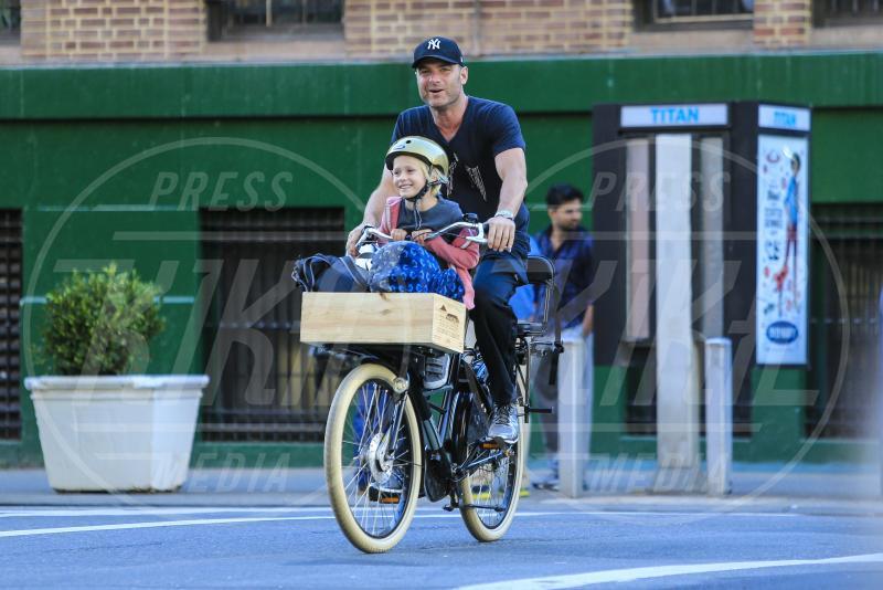 Alexander Pete Schreiber, Liev Schreiber - New York - 17-09-2013 - Dove vai, se la bici (condivisa) non ce l'hai?