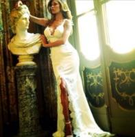 Belen Rodriguez - Comignago - 20-09-2013 - Matrimonio Rodriguez-De Martino: finalmente sposi