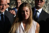 Belen Rodriguez - Comignago - 20-09-2013 - Matrimonio Rodriguez-De Martino: il fatidico sì alle venti