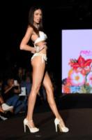 Modella - Milano - 21-09-2013 - Milano Fashion Week: il messaggio sul lato b